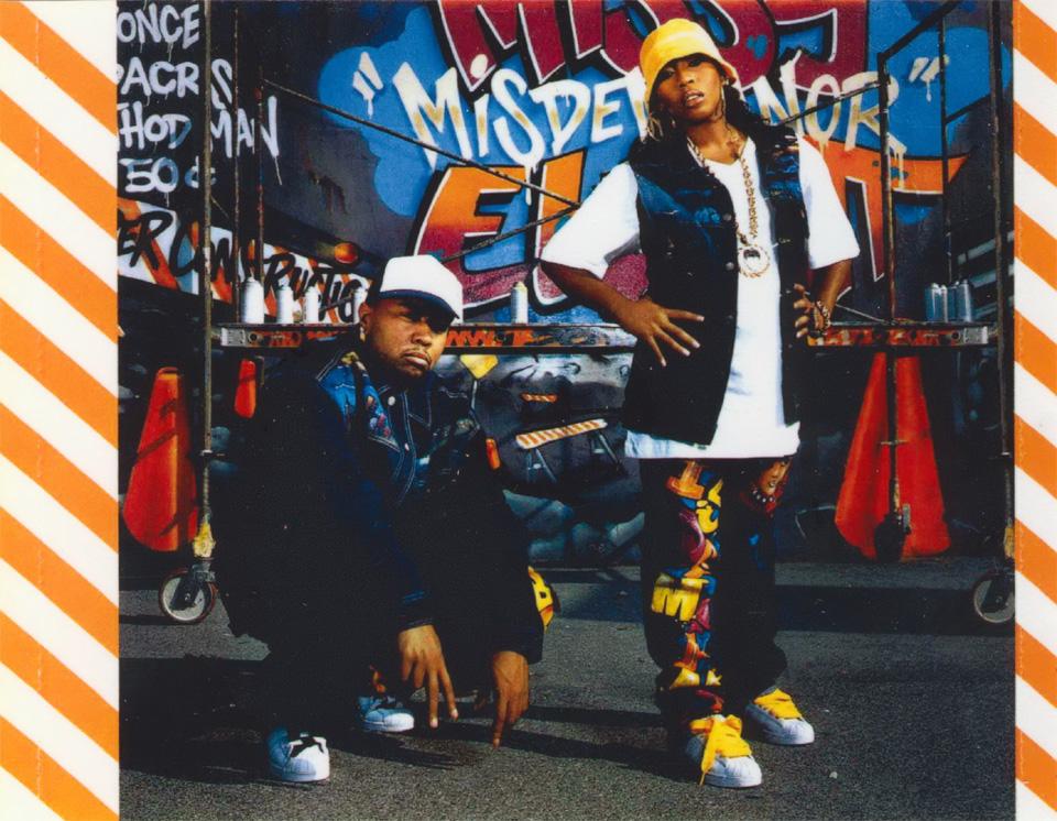 Missy Elliott and Timbaland in Under Construction album artwork