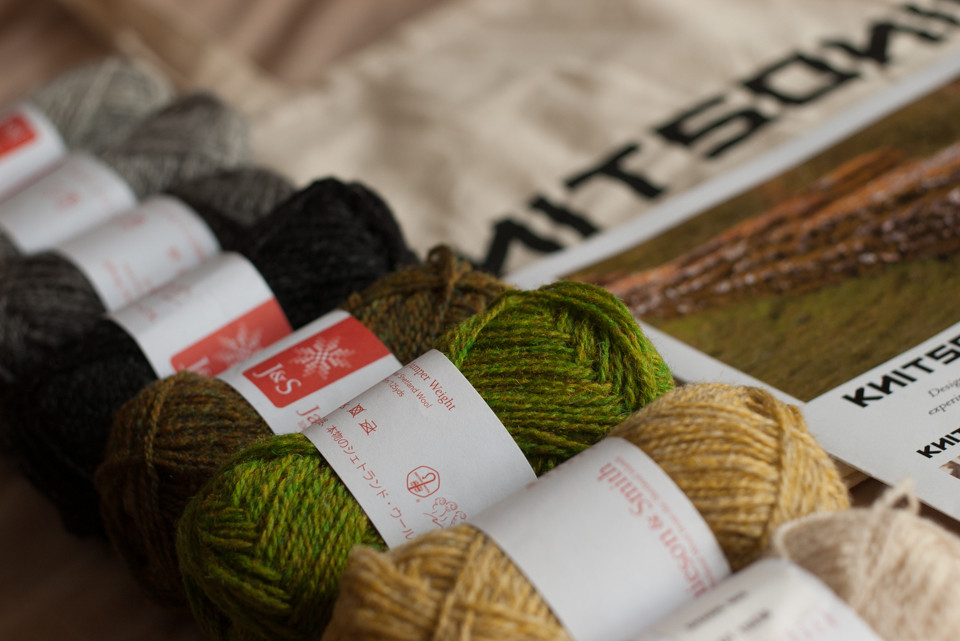 MITTS-A-LONG KITS FROM KNITSONIK, £25 + P&P
