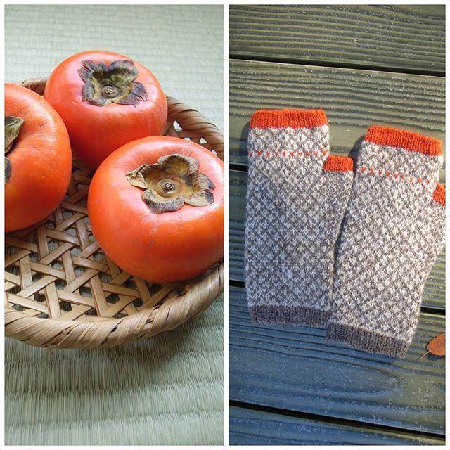 Yumi's amazing persimmon mitts