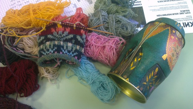 Quotidian Colourwork at Purlescence