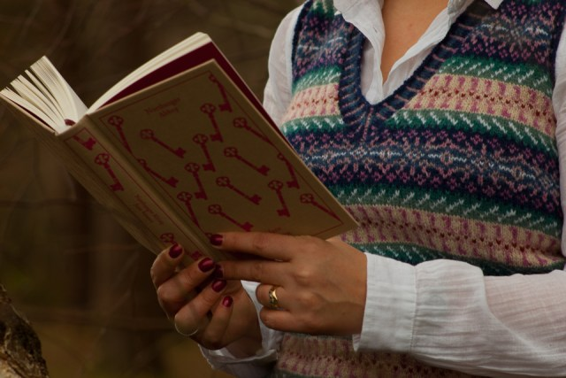 ...here is one of the books that provided inspiration for the Jane Austen Vest