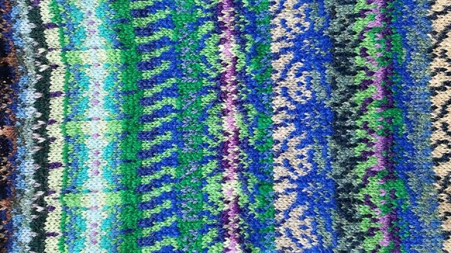 Eryngium Zabelii Swatch designed by Bev