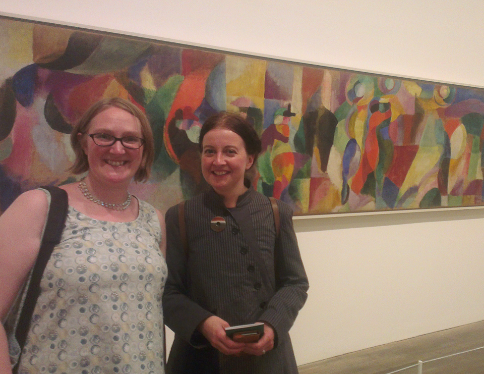 At Sonia Delaunay in 2015!