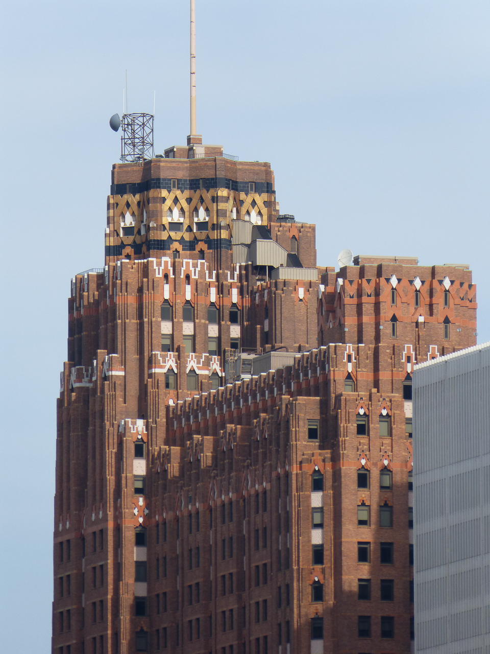 The Guardian building from Windsor...