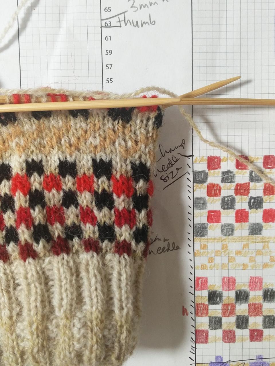 Felix knits Knitted Sheaths!