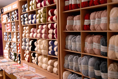 our products knitting wool and yarns