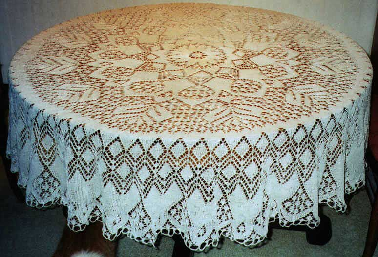 1940\'s Knitted Lace Doily » Knitting-and.com