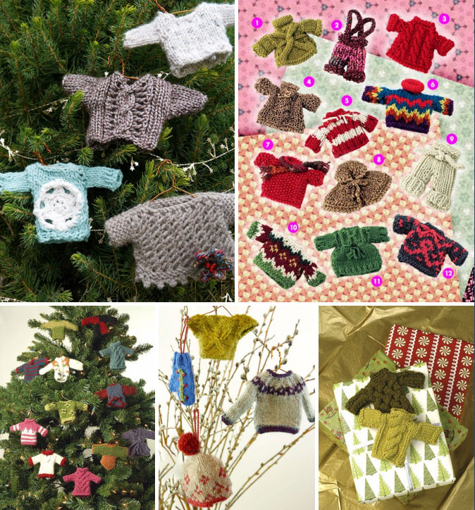 Knitted Christmas Decorations Free Patterns Uk