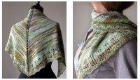 Free free stockinette stitch shawl knitting patterns ...