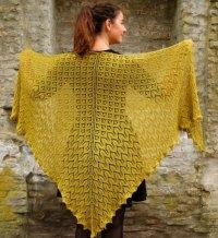 Morgenfryd Large Lace Shawl Knit Pattern  Knitting Bee