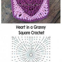 Crochet Granny Square Diagram Honda 250ex Wiring Squares ⋆ Knitting Bee (46 Free Patterns)