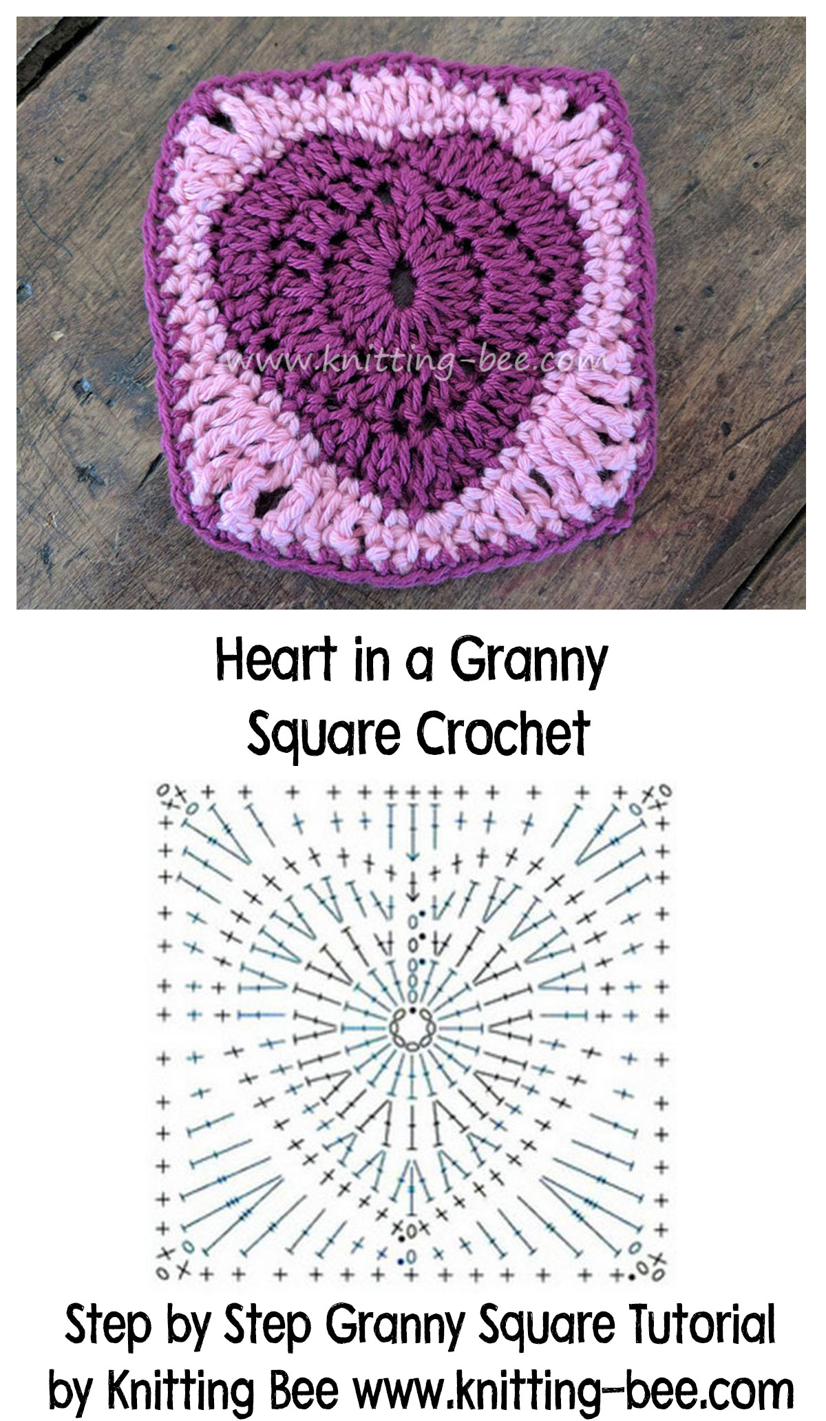 diagram for granny square crochet stitch rv monitor panel wiring heart in a free step by