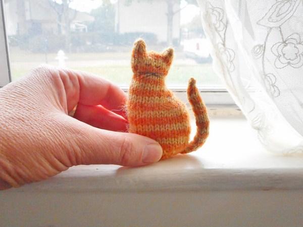 free cat knitting patterns # 13