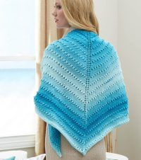 Free knit triangle shawl patterns Patterns  Knitting Bee ...
