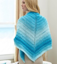 How To Knit A Simple Lace Triangle Shawl  Knitting Bee
