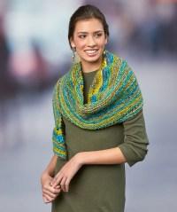 Simple Crescent Shawl Free Knitting Pattern  Knitting Bee
