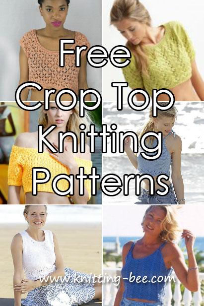 crop top knitting patterns