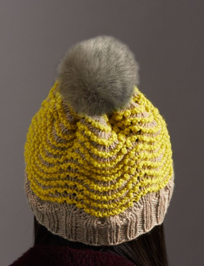 Cable Knit Hat Knitting Pattern