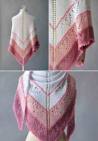 Be Mine Shawl Free Knitting Pattern  Knitting Bee