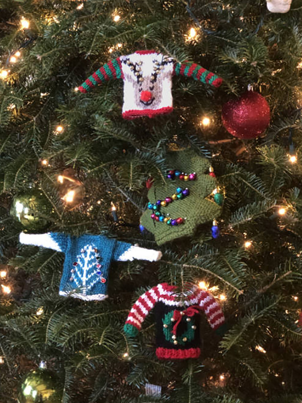 Knitted Christmas Ornaments Free Patterns