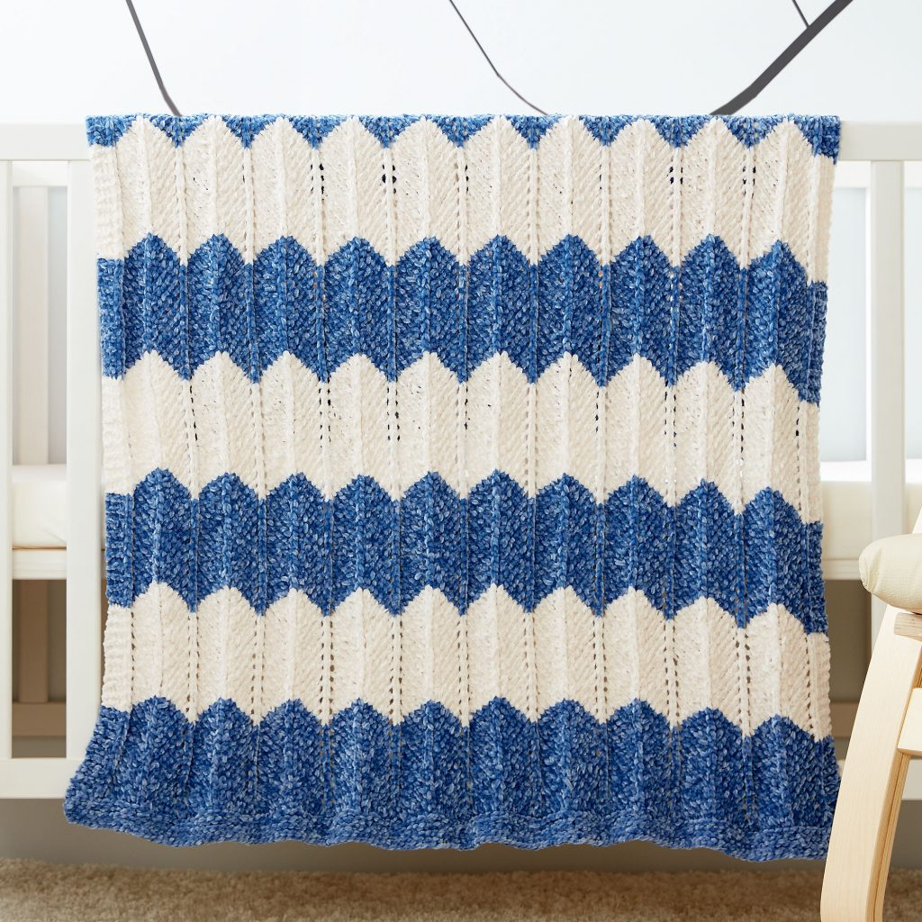 5 Free Printable Knitting Patterns For Baby Blankets
