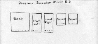 Singer knitting machine instructions for a preemie sweater