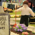 Craftwell knitted village