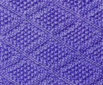 Moss Stitch Diamond Knitting Stitch  Knitting Kingdom
