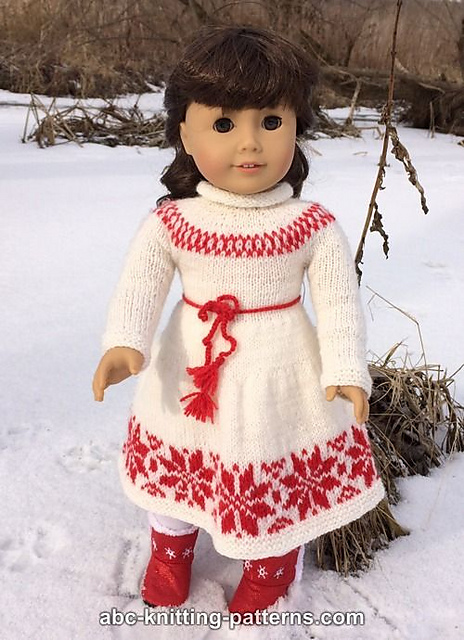 Knitting Patterns Galore American Girl Doll Nordic