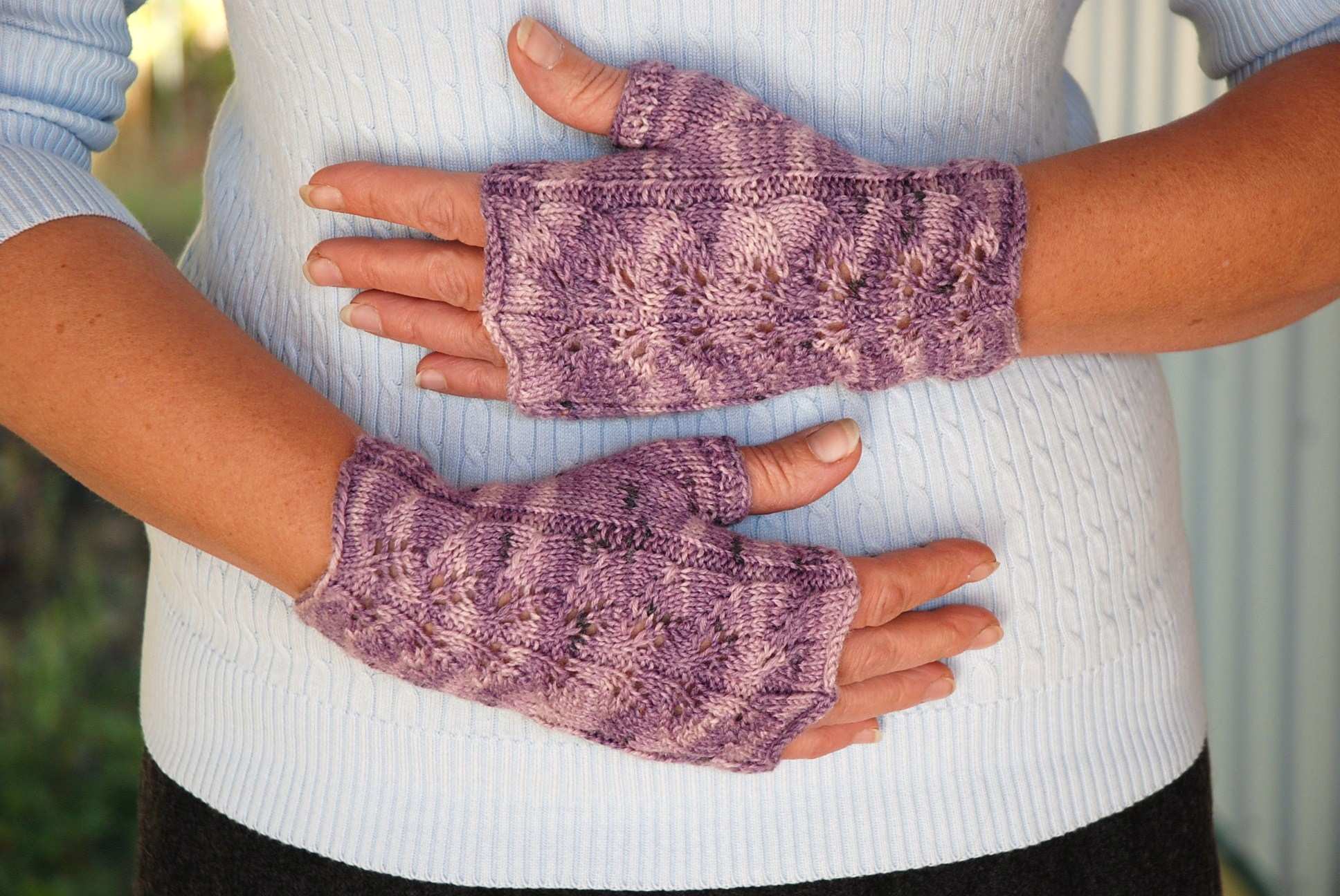 Finger Knitting Easy Patterns