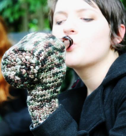Knitting Patterns Galore Beer Mitt