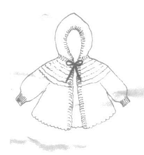Pattern For Hooded Baby Sweater
