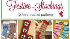 12 Beautiful Crochet Stockings