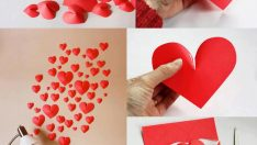 RECYCLE AND SURPRISES IN THE VALENTINE'S DAY