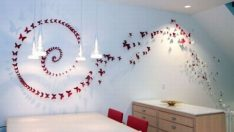 DIY Butterfly Wall Decor