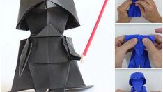 DIY Paper Star Wars Darth Vader