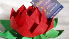 How to make an origami Lotus Flower Dıy Tutorial Video