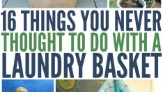 16 THINGS YOU NEVER THOUGHT TO DO WITH A LAUNDRY BASKET