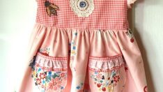 Interesting Girl Dress Sewing
