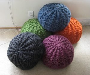 knitting pouf pattern5