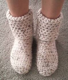 Crochet Sock & Slipper Patterns