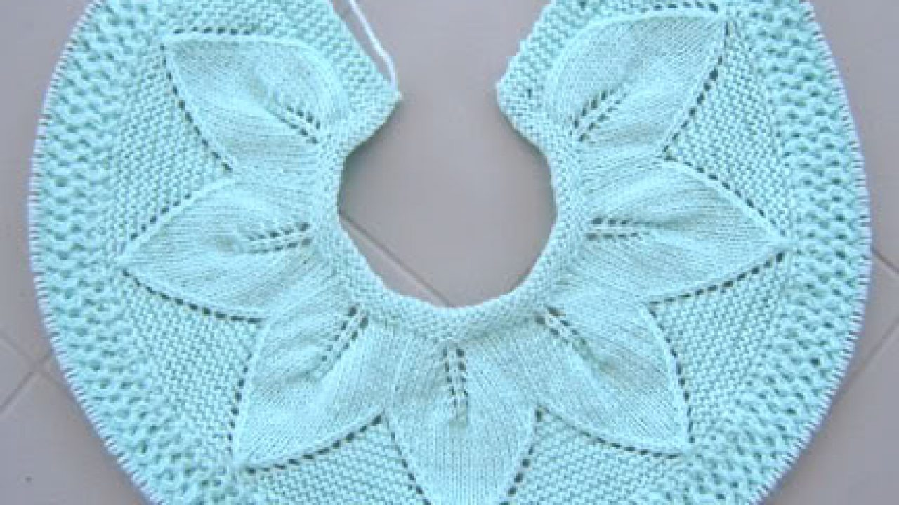 Knitting for Baby Cardigan