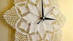 Making Clock  to Lace