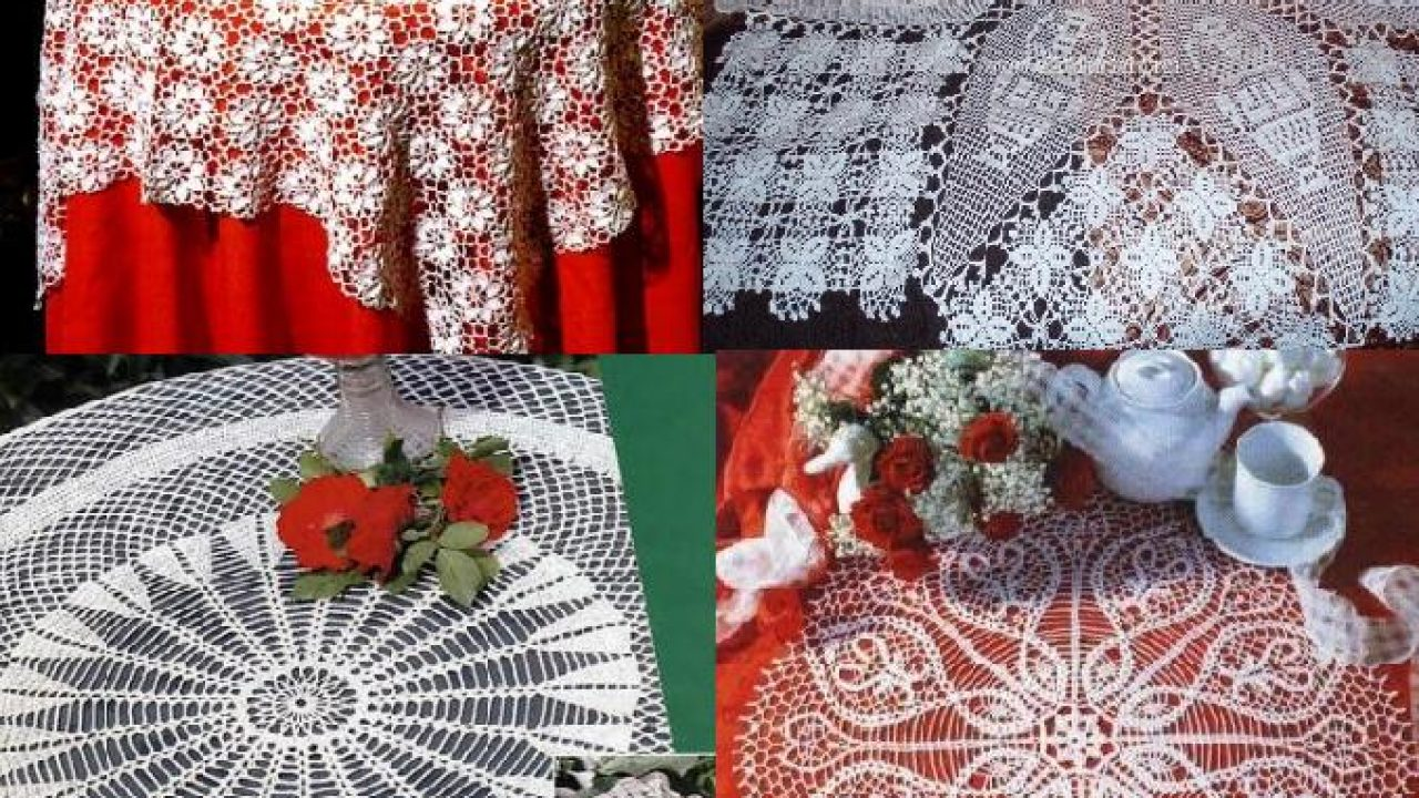 2017 Lace Tablecloths