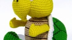 Amigurumi Construction Toy Turtle