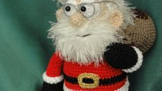 Santa Claus Made Amigurumi