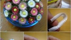 Flower Making From Pipette