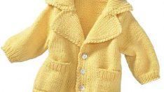 Cardigan Knit Baby Patterns