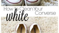 How to make clean your converse