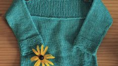 Baby knits dress, vest and booties ideas +50